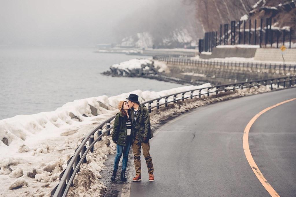 北海道婚紗 支芴湖婚紗拍攝
