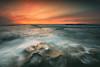 Turbulence (David Colombo Photography) Tags: hospitalsreef lajolla reef sunset pacific ocean landscape seascape california nikon d800 davidcolombo davidcolombophotography outdoor sea rocks waves clouds vibrant