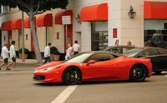 Ferrari 458 Italia (SPV Automotive) Tags: ferrari 458 italia coupe exotic sports car supercar red