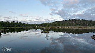 El islote de Myössäjärvi