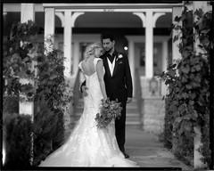 Tori006 (emulsionRocks) Tags: film aeroektar hp5 speedgraphic illford 4x5 filmisnotdead rodinal wedding bride largeformat ae bwfp