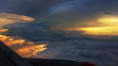 Wanderlust (Debmalya Mukherjee) Tags: debmalyamukherjee motog3 sunset aircraft window