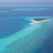 A dreamy Maldives island spotted on the seaplane transfer to Reethi Beach