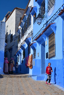 street of Chefchaouen Morocco_2134