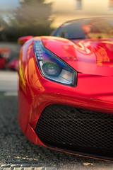 Caged beast: Ferrari 458 (lu_ro) Tags: caged beast auto car hypercar automotive supercar italian italy modena sony a7 50mm samyang hoya lp 6104