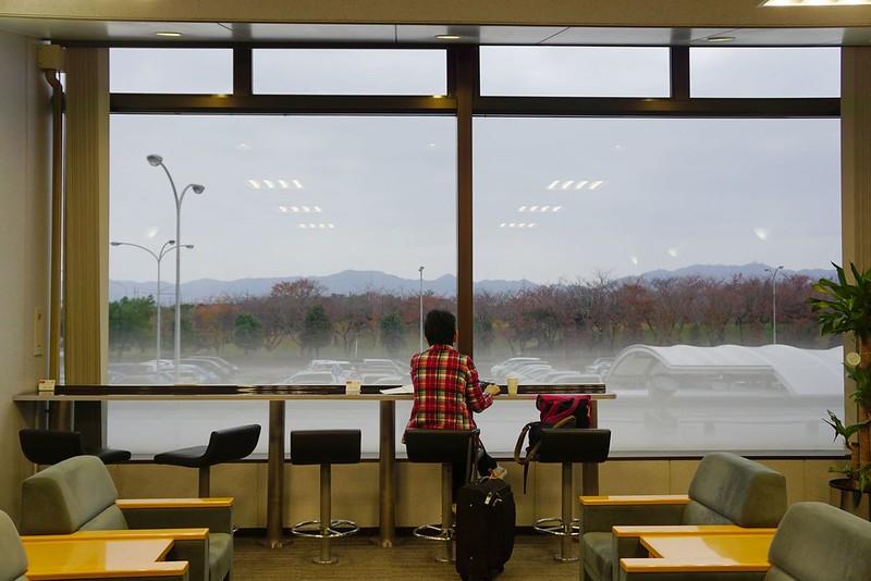 鳥取米子鬼太郎機場JCB貴賓室