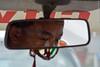 Kathmandu, Nepal. (RViana) Tags: nepali nepalese nepalês nepalesa southasia 尼泊爾 尼泊尔 نيبال 네팔 नेपाल ネパール נפאל непал khatmandu catmandu hinduism hindus hinduísmo taxi mirror asian men eyes