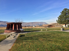 2017 YIP Day 322: Chief Joseph Dam Orientation Area & Recreation Area (knoopie) Tags: 2017 november iphone picturemail chiefjosephdamorientationareaandrecreationarea bridgeport 2017yip project365 365project 2017365 yiipday322 day322