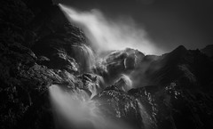 Pictural Raw Falling, Gavarnie ,Haute Pyrénées (modigliani76) Tags: montagne mountain pyrenees hautepyrenees leica leicam8 amazing longexposure nd1000filter 35mmlens landscape beauty arts monochrome noiretblanc waterfall cascade gavarnie water dream reve modigliani76 photo nationalgeographic digitalcamera
