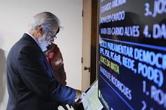 CAS - Comissão de Assuntos Sociais (Senado Federal) Tags: anvisa cas paineleletrônico ponto sabatina senadorairtonsandovalpmdbsp brasília df brasil bra