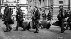 Orchestral Manoeuvres (FotoFling Scotland) Tags: edinburgh imusicalinstruments orchestra street fotoflingscotland