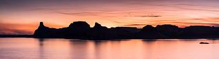 Gunsight Butte panorama