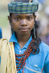 Baiga boy (wietsej) Tags: baiga boy maikal hills chhattisgarh indis sonydslra100 sonysal135f18 a100 sal135f18z 135 18 portrait tribal rural village