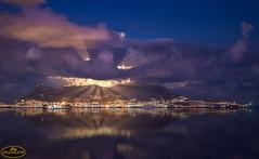 Super Luna - tras las nubes (PictureJem) Tags: nocturna night luna moon nubes