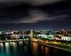 Nassau at night (Ed Rosack) Tags: msnieuamsterdam cruise ©edrosack nassau newprovidence bahamas panorama olympus hi res