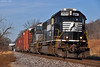 """Eastbound Manifest in Fleming, MO (""""Righteous"""" Grant G.) Tags: ns norfolk southern railway railroad locomotive train trains east eastbound manifest freight emd power missouri junction standard cab"""