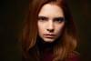 Mariya (vasiliyzhukov) Tags: girl model nikon nikond3s studio sweet portrait pretty eyes red hair hot moscow