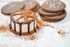 Sanduíche de Sorvete (andreborgesphoto) Tags: andreborges andreborgesfriaca andréborges andréborgesfriaça borgesfree gelatos tribo triboculinária caldas cookie culinária doces protudo sorvete