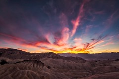 In My Dreams I'll Always See You (Anna Kwa) Tags: zabriskiepoint sunset sky clouds light deathvalleynationalpark california usa annakwa nikon d750 nikond750140240mmf28 my fire always stories moment memories seeing heart soul throughmylens travel destiny omm fate life journey world faithhill thereyoullbe whatmatters intheheart unforgettable