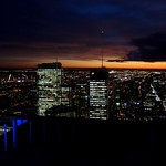 Nighttime Cityscape, Downtown Montreal (Quebec, Canada) thumbnail