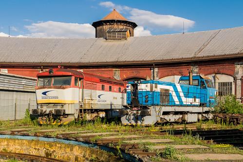 751 175-1 + 736 020-9 ZSSK Cargo Zvolen 18.06.17