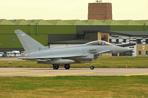 RAF Eurofighter Typhoon ZK368