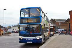 Stagecoach Norfolk 18340 AE55DKA - Kings Lynn (KA Transport Photography) Tags: stagecoach norfolk 18340 ae55dka kings lynn