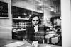 IMG (kiev.elena) Tags: cafe window portrait bw