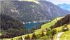 on continue la rando vers le Lac des Fées au bout du lac de barrage de St Guerin© (philippedaniele) Tags: montagne lac barrage hydroélectricité alpes savoie beaufortain