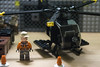 Looking Locked And Ready (LegoInTheWild) Tags: moc afol lego minifigure helicopter army brickarms sidan