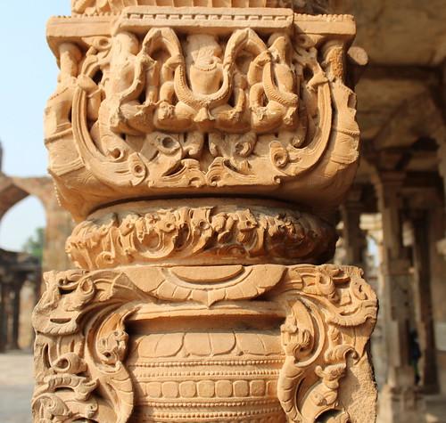 Terracotta Stone Carvings at Qutb Minar