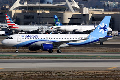 Interjet | Airbus A320-200 | XA-UNO | Los Angeles International (Dennis HKG) Tags: interjet mexico aij 4o airbus a320 airbusa320 sharklets aircraft airplane airport plane planespotting losangeles klax lax xauno canon 7d 100400