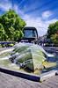 1160 Val de Loire en Août 2017 - Devant la Gare de Tours (paspog) Tags: tours loire valdeloire france touraine 2017 août august gare garedetours fontaine jetdeau fountain