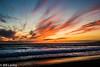 Coastal Twilight Colors (informalphotography) Tags: california clouds orange santamonicabeach yellow beach blue ocean red shore twilight waves sea sky water sand sunset