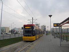 """Pesa 128N """"Jazz-Duo"""", #3633, Tramwaje Warszawskie (transport131) Tags: tram tramwaj pesa 128n jazzduo tw warszawa ztm warsaw"""