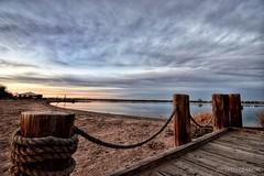 November Nights (CTfotomagik) Tags: lake sunset dock windsorco evening november sky colorado nikon