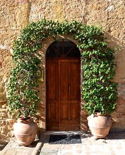 Italy: Antique door