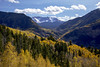 Pause (Jeff Mitton) Tags: aspen quakingaspen tremblingaspen fallcolors autumncolors fall autumn mountains sanmiguelmountains snow ice conifer mountain forest sprucefirforest landscape earthnaturelife wondersofnature coth thesunshinegroup coth5 sunrays5