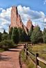 Path to Monoliths (Jim Johnston (OKC)) Tags: gardenofthegods coloradosprings monoliths redrocks path clouds colorado