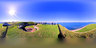 360 pano from the bastions of Fort Independence, Castle Island, South Boston