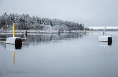 November - Finland (Sami Niemeläinen (instagram: santtujns)) Tags: joensuu suomi finland luonto nature november marraskuu järvi lake lumi snow jää ice pyhäselkä pohjoiskarjala north carelia talvi winter