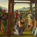 PERUGIN,1497 - L'Adoration des Mages (Rouen) - Detail 01