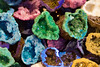 Colourful geodes cut open (Ian Redding) Tags: nature blue bright colourful colours crystalline crystals cut exposed geode geodes geological geology gold green hollow inside natural open pink purple quartz red rock rocks selection sparkling stones structures vibrant