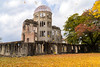 Hiroshima atomic bomb dome (w.z.yam) Tags: japan hiroshima atomic bomb dome autumn leaves trees sony a7ii 35mm zeiss abomb