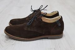 Туфли  на шнурках коричневая замша Hilfiger (azzafazzara) Tags: туфли обувь 42