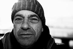 Pescatore di Cabras (nicolamarongiu) Tags: pescatore peschiera biancoenero blackandwhite monocrome monocromo ritratto portait cabras sardegna sardinia italy fisherman canon sguardo lavoro flickr