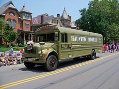 OH Columbus - Doo Dah Parade 118 (scottamus) Tags: columbus ohio franklincounty fair festival parade doodahparade 2015 bus