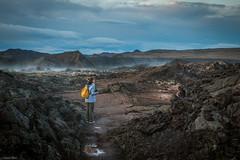 Inside Krafla Smoking Lava Fields 🌋  - Iceland (Toine B.) Tags: krafla lava lave field volcanic iceland islande nikon d750 tamron 2470 tamronsp2470mmf28divcusd earth landscape paysage ciel montagne