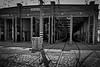 HALLE II (christikren) Tags: austria architektur bw blackwhite christikren city lines linescurves monochrome österreich photography remise sw schwarzweiss shadow perspective sky vienna tramdepot tram tramway station urban traffic line
