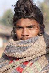 Baiga man (wietsej) Tags: baiga man maikal hills chhattisgarh india portrait hair sony a100 zeiss sal135f18z 13518 sonnar13518za